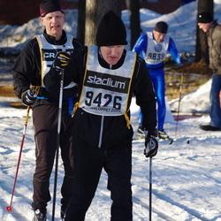 Skiing 90 km - Fredrik Söderhielm (7212), Anders Hellman (9426)