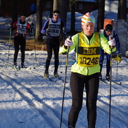 Skiing 90 km - Johan Zeberg (12818), Christer Martinsson (12939), Ankie Lindquist (18248)
