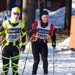 Skiing 90 km - Fredrik Lundkvist (7982), Christer Martinsson (12939)