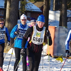Skiing 90 km - Christian Lindberg (6581), Magnus Lindberg (7523)