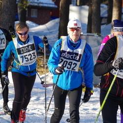 Skiing 90 km - Arne Tømmervold (7092), Magnus Lindberg (7523)