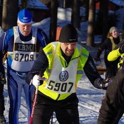 Skiing 90 km - Ulf Svenson (5907), Anders Johnsson (8709)