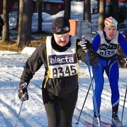 Skiing 90 km - Daniel Edberg (8135), Tomas Johansson (8345)