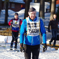 Skiing 90 km - Anders Nielsen (15427), Conny Lundgren (15608)