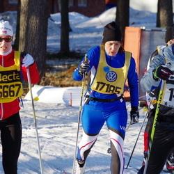 Skiing 90 km - Carl-Gustaf Österberg (14712), Jana Matouskova (16667), Helena Rosengren (17185)