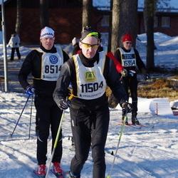 Skiing 90 km - Caspar Peter Bay Grauballe (8514), Mattias Näslund (11504), Lennart Samefors (15354)