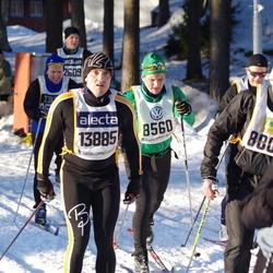 Skiing 90 km - Niclas Adamovic (8560), Andras Kaasik (13885)