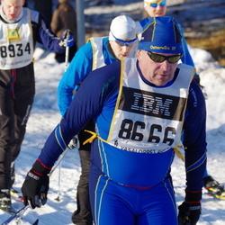 Skiing 90 km - Per-Erik Gunnarsson (8666), Andreas Bøgsted-Møller (8934)