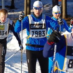 Skiing 90 km - Mikael Hakovainio (7983), Per-Erik Gunnarsson (8666), Andreas Bøgsted-Møller (8934)