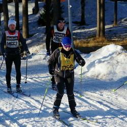 Skiing 90 km - Mats Thunwall (11532), Anders Hastrup Jensen (14667), Anneli Borg (17545)