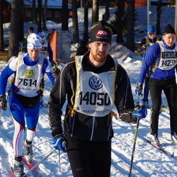Skiing 90 km - Ulf Posse (7614), Anders Bernhardsson (14050), Mats Winterfeldt (14235)