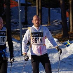 Skiing 90 km - Richard Dotzsky (8110), Aristotelis Baroutsis (9514)