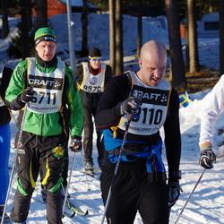 Skiing 90 km - Daniel Ahlstedt (6711), Richard Dotzsky (8110), Ronny Olofsson (8148), Aristotelis Baroutsis (9514), Johan Rytting (9976)