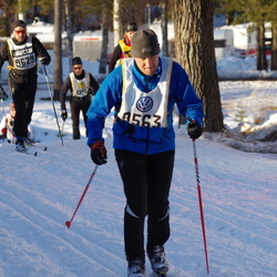 Skiing 90 km - Lars Sigvart Hop (8563), Henrik Andersson (9209), Joakim Molin (9629)