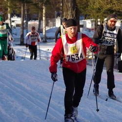 Skiing 90 km - Martin Eklund (7634), Henrik Andersson (9209), Joakim Molin (9629)
