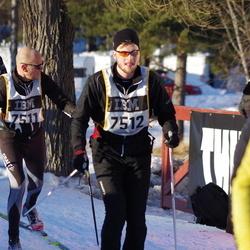 Skiing 90 km - Henrik Nordqvist (7511), Jakob Thordsson (7512), August Sjöholm (15408)