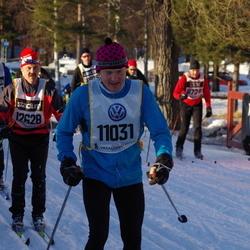 Skiing 90 km - Joakim Adolfsson (6841), Jörgen Rydén (11031), Eero Orajärvi (12628)