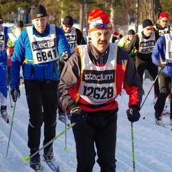 Skiing 90 km - Joakim Adolfsson (6841), Eero Orajärvi (12628)
