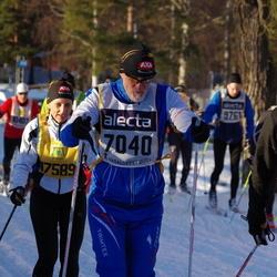 Skiing 90 km - Emil Byström (7040)