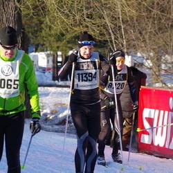 Skiing 90 km - Fredrik Ylander (11394)