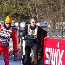 Skiing 90 km - Robert Haglund (12585), Bordas Gilles (12831)