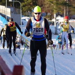 Skiing 90 km - Henrik Rosencrantz (7668)