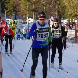 Skiing 90 km - Eberhard Krengel (7892), Bruno Pilote (11323)