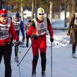 Skiing 90 km - Roger Isaksson (11845), Davide Ghisleni (13114)