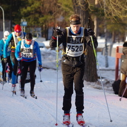 Skiing 90 km - Christer Ottosson (7520)