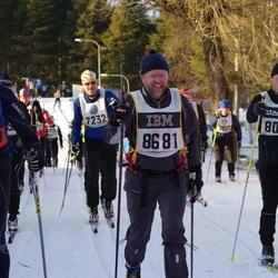 Skiing 90 km - Andreas Eriksson (8082), Claes Pegelow (8681), Ingemar Lindberg (30169)