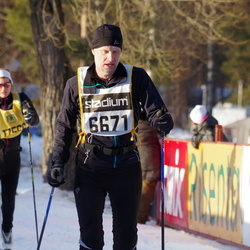 Skiing 90 km - Åke Johansson (6671)