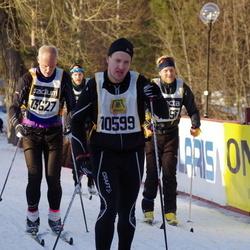 Skiing 90 km - Anders Olofsson (10599), Michael Wallin (13627)
