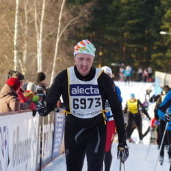 Skiing 90 km - Esko Huupponen (9673)