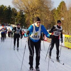 Skiing 90 km - Christian Ridler (9383)
