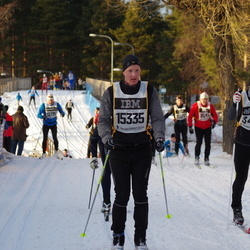 Skiing 90 km - Fredrik Justesen (15335)