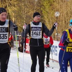 Skiing 90 km - Ludek Hlavacek (3463), Fredrik Justesen (15335)