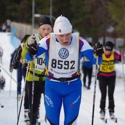 Skiing 90 km - Arne Karlsson (8592)