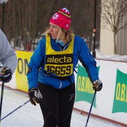 Skiing 90 km - Carola Holm (16659)