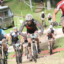 Cycling 90 km - Carl-Anders Fåglum (580), Tony Lind (813)