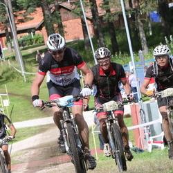 Cycling 90 km - Jan-Olof Johansson (1298), Henrik Palmén (2087), Niklas Rosen (2113)