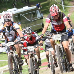 Cycling 90 km - Anders Englund (2234), Jan Fridlund (2352), Tommi Ratilainen (2825)