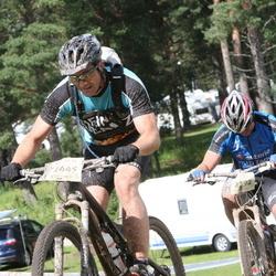 Cycling 90 km - Mikael Hidland (2392), Christian Thorsén (2445)