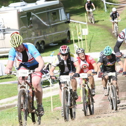Cycling 90 km - Tony Wallin (1224), Mattias Jaensson (2061), Tomas Berndtsson (2571), Henrik Gustafsson (7066)