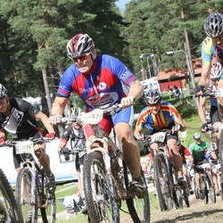 Cycling 90 km - Albin Tärning (2121), Glenn Olsen (3137)