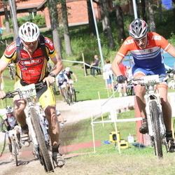 Cycling 90 km - Anders Jensen (2319), Magnus Ahlbäck (3115)