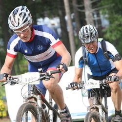 Cycling 90 km - Anders Lundholm (2356), Lars Walldoff (3035)