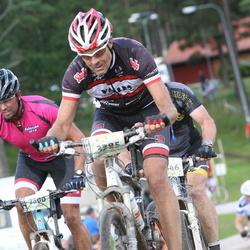 Cycling 90 km - Henrik Zenob (2500), Mats Björkman (3385)