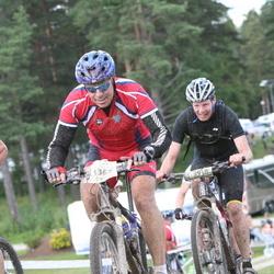 Cycling 90 km - Anders Sandberg (3367), Staffan Palopää (3918)