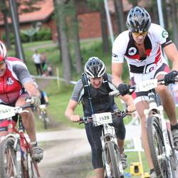 Cycling 90 km - Henrik Moquist (3520), Jakob Levander (4374)