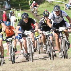 Cycling 90 km - Lars Bengtsson (3360), Johan Widell (3640), Anton Knutsson (3754), Björn Andersson (4407)